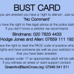 Avoid Letting Them Photograph You and If Arrested - NO COMMENT!
