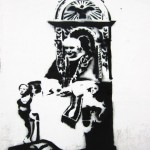 Banksy or not Banksy - Controversial Piece (@ArtUnderTheHood)