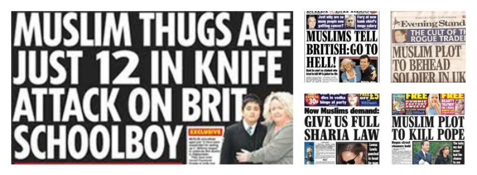 Islamophobia In The British Tabloids