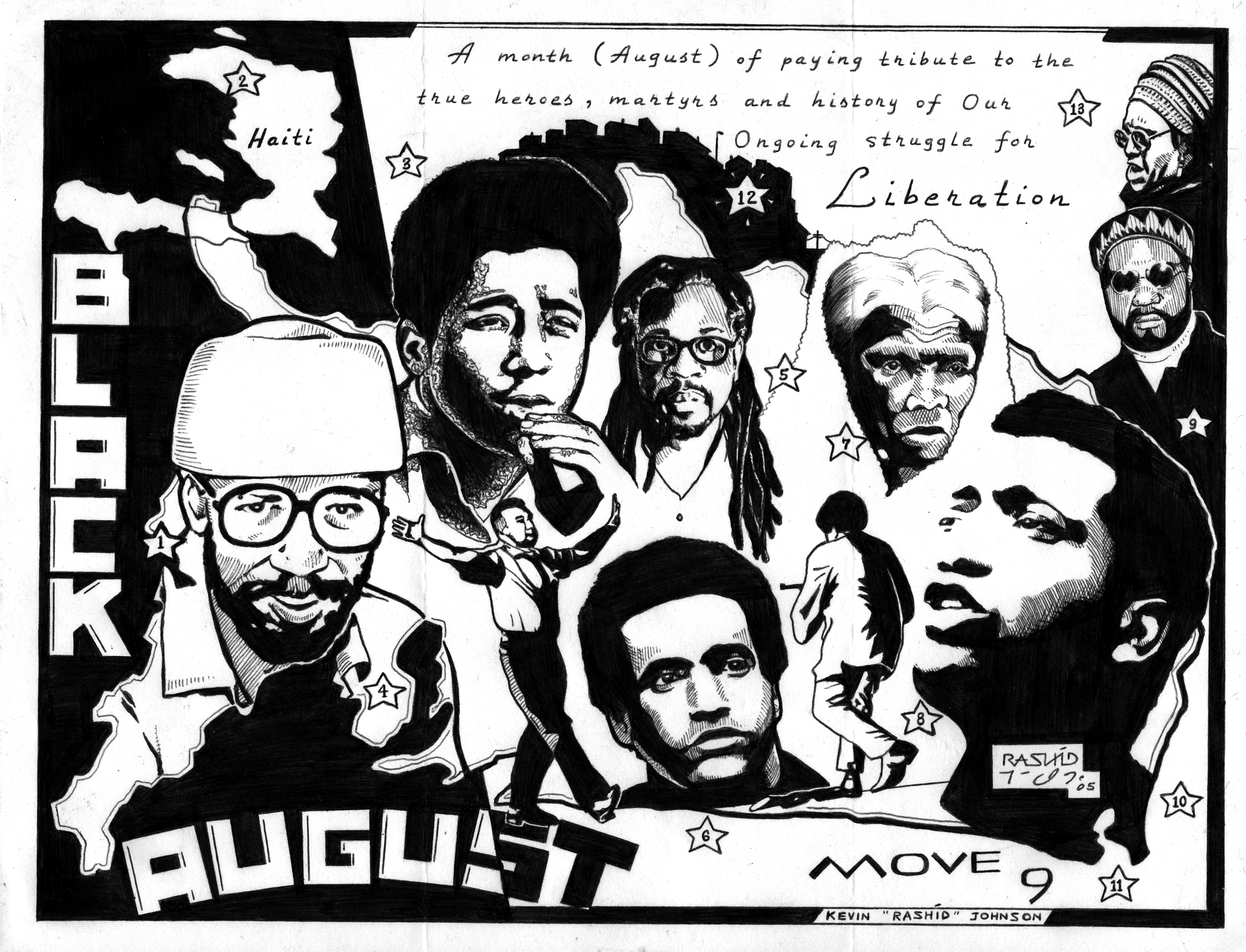 black august kevin rashid johnson