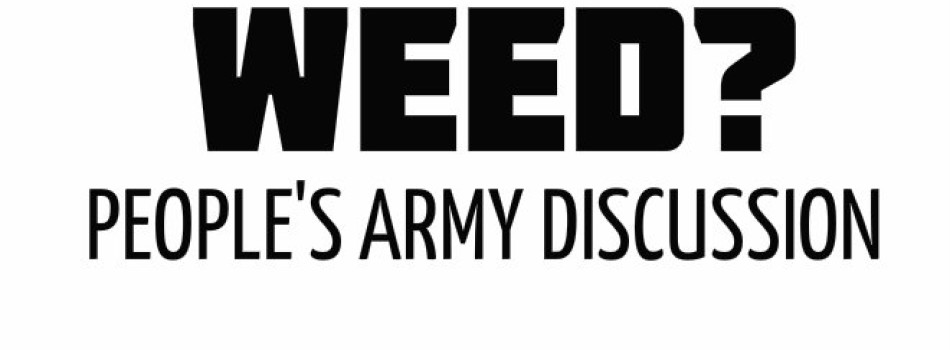 Video: AMY TRUE (@Amy_True) — WEED? (PEOPLE'S ARMY DISCUSSION)