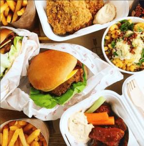 Fried Chicken, Mac N Cheese, Buffalo Wings @templeofseitan
