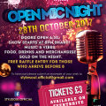 Open Mic 28th October Flyer
