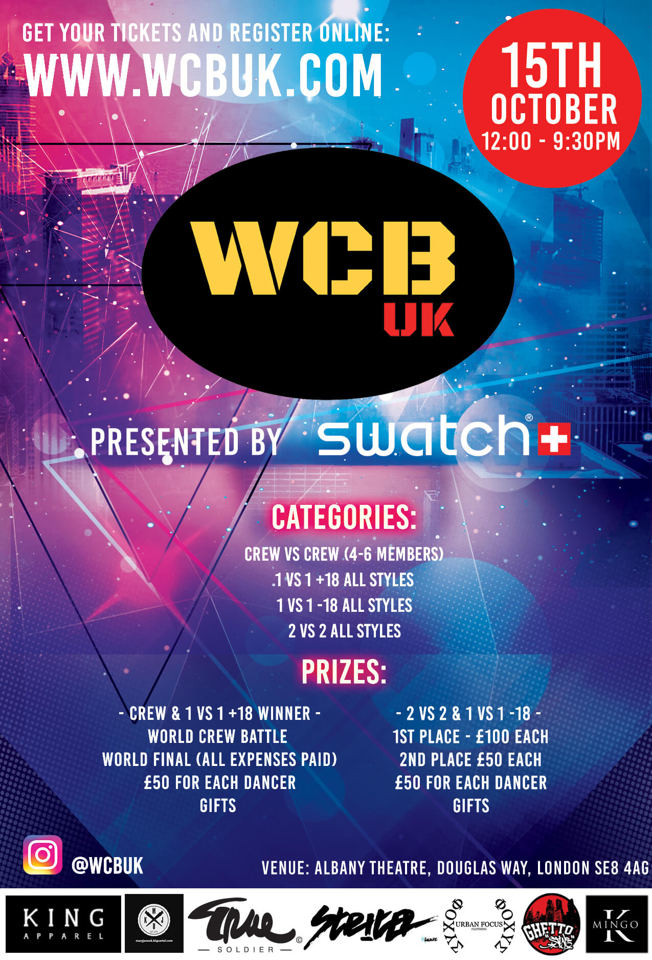 World crew battle uk
