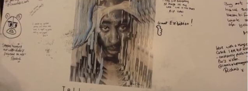 HIGHLIGHT NATION (@theHLNation) 2PAC ART EXHIBITION | INTERVIEWS & FOOTAGE