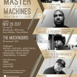 Backcourt Records & All Elements Present Master of the Machines Production Battle League VII @SadatX @JRONIN @fantomofthebeat