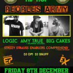 EVENT: ENABLER PROMOTIONS (@enablerpro ) PRESENT 'UNITY HIPHOP' FT AMY TRUE (@Amy_True) , LOGIC (@LogicArmy) & BIG CAKES (@bigCAKES ) | CORBY