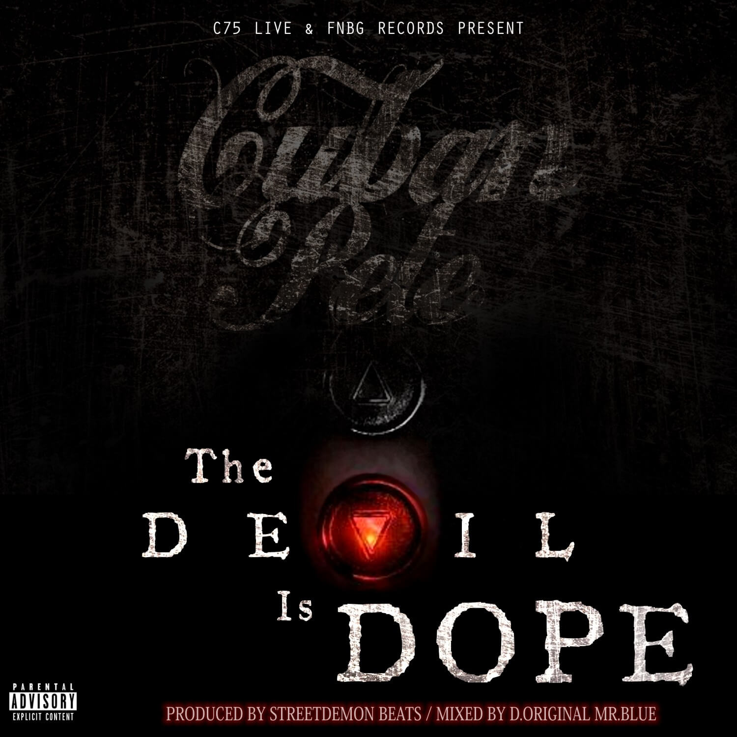 Cuban Pete - The Devil Is Dope - Artwork