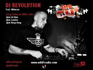 revolution the cut on wild1radio