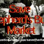SAVE SHEPHERDS BUSH MARKET - GENTRIFICATION STRIKES