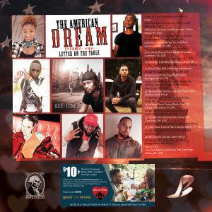 American Dream vol. 1 back cover
