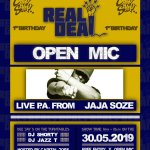 REVIEW| REAL DEAL CELEBRATE 1ST BIRTHDAY WITH JAJA SOZE @ChipShopBXTN