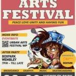 THE URBAN ARTS FESTIVAL WEMBLEY PARK 28TH & 29TH SEPTEMBER