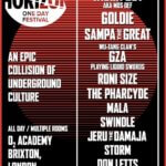 SOUNDCRASH 'BEAT HORIZON' FESTIVAL  | TALIB KWELI - MOS DEF* - GOLDIE - GZA - SAMPA THE GREAT - RONI SIZE - MALA - SWINDLE - MANY MORE TO BE ANNOUNCED.