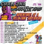 EVENT | CHALI 2NA & KRAFTY KUTS ANNOUNCE THE 'ADVENTURES OF A RELUCTANT SUPERHERO' TOUR 2019