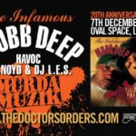 EVENT | MOBB DEEP MURDA MUZIK 20TH ANNIVERSARY SATURDAY 7TH DECEMBER