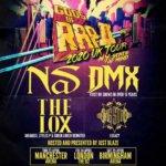 GODS OF RAP II UK ARENA TOUR: NAS / DMX / THE LOX / GANG STARR / JUST BLAZE