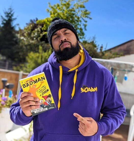 HUMZA ARSHAD (DIARY OF A BADMAN) RELEASES LATEST CHILDRENS BOOK 'LITTLE BADMAN AND THE TIME TRAVELLING TEACH OF DOOM'