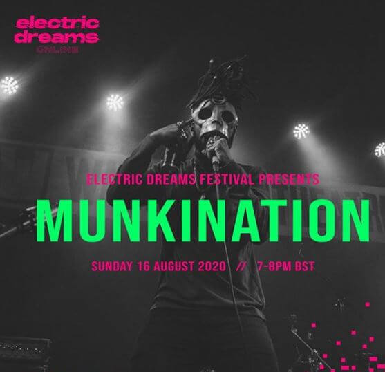ELECTRIC DREAMS ONLINE | MUNKINATION WITH HALVCAST ON 16TH AUGUST 2020