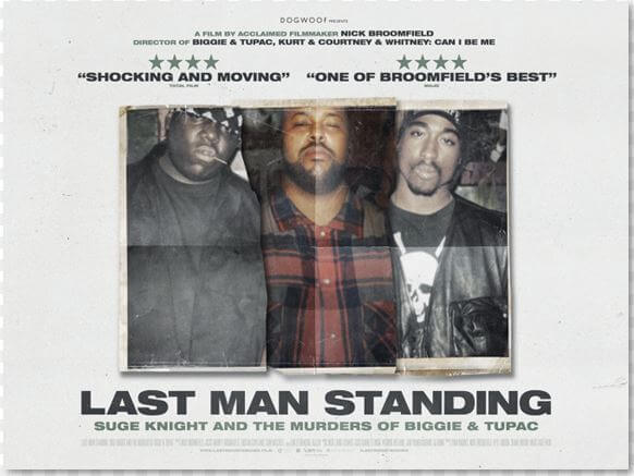 REVIEW   LAST MAN STANDING: SUGE KNIGHT AND THE MURDERS OF BIGGIE & TUPAC
