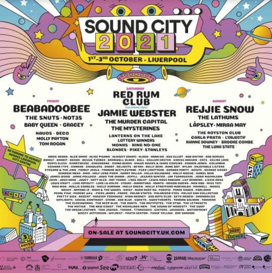 SOUND CITY 2021 - THE RETURN OF NEW MUSIC DISCOVERY ACROSS THE HEART OF LIVERPOOL